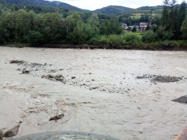 Kamienica most powódź
